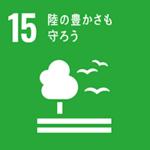 SDGs 15: 陸の豊かさも守ろう