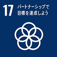 SDGs 17: パートナーシップで 目標を達成しよう