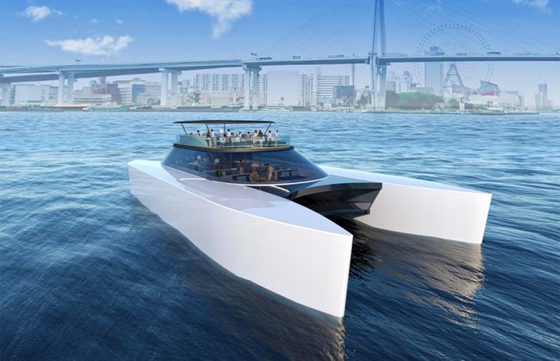 岩谷産業 株式会社: 水素燃料電池船の完成イメージ