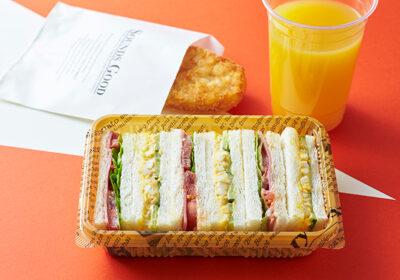 ホテル ユニバーサル ポート - 朝食サンドイッチセット