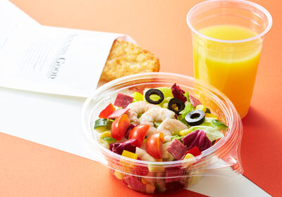 ホテル ユニバーサル ポート - レックスカフェ:サラダセット