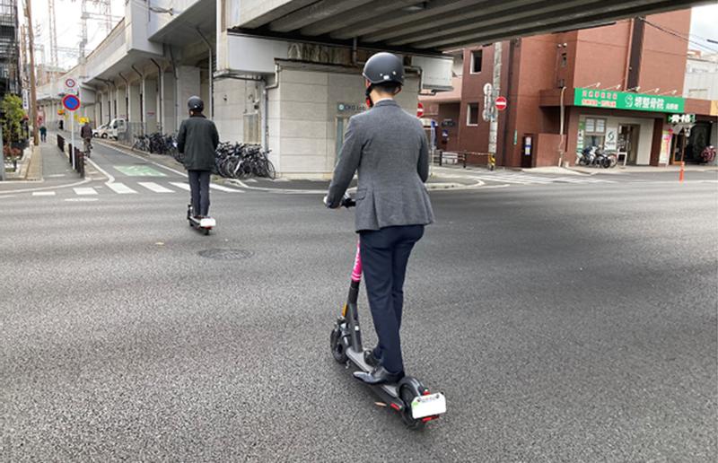 mobby 国内初 福岡市内公道での実証実験 令和2年10月20日から令和3年3月末まで(予定)