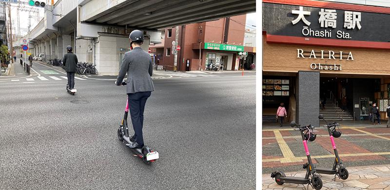 mobby 国内初 福岡市内公道での実証実験