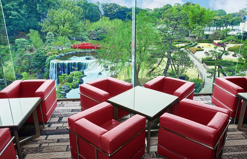 ホテルニューオータニ(東京) - 圧巻の庭園ビューを臨む「ガーデンラウンジ」