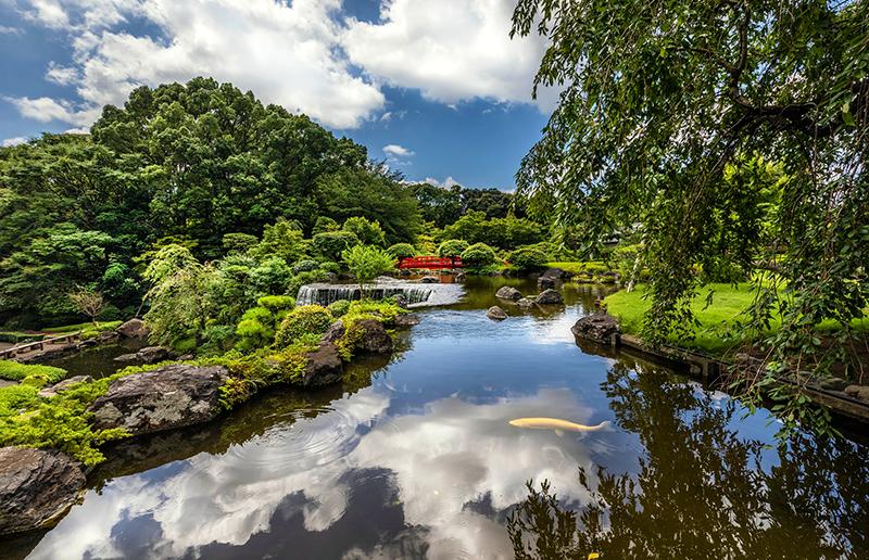 ホテルニューオータニ(東京) - 広大な日本庭園
