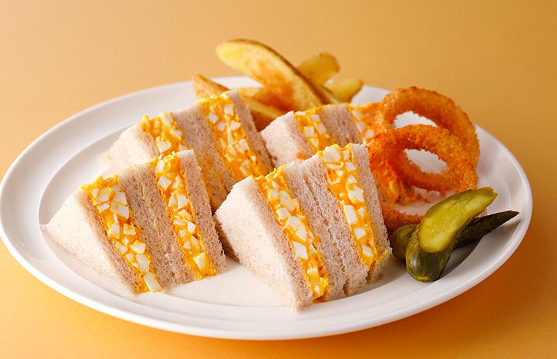 ホテルニューオータニ(東京) - 太陽卵のサンドウィッチ