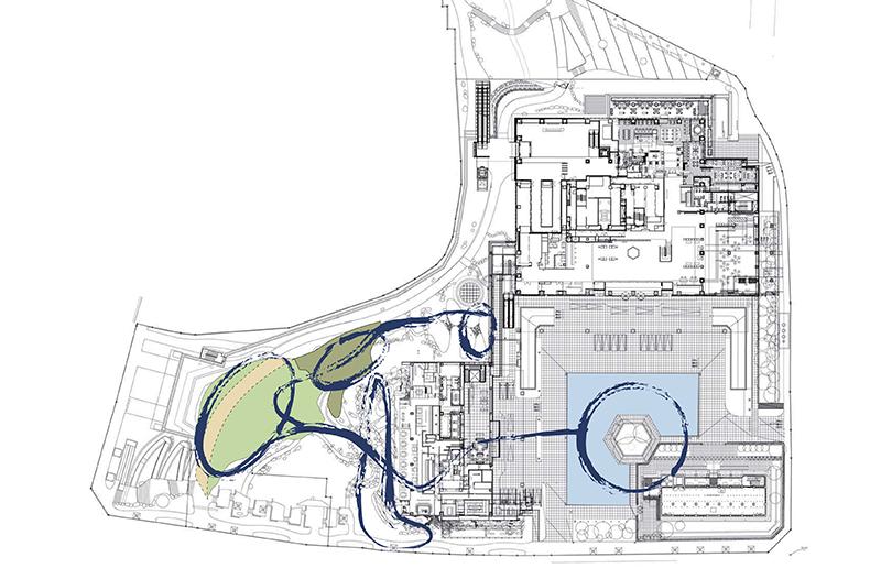 オークラ庭園 コンセプト図
