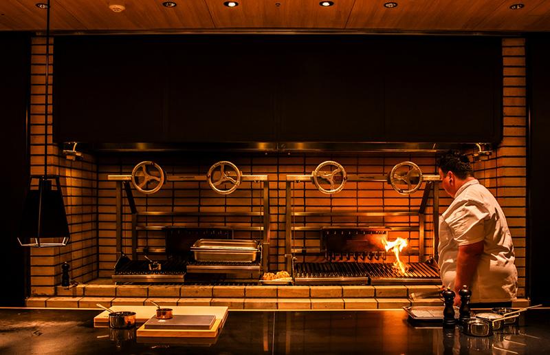 ホテルインディゴ箱根強羅のキッチン