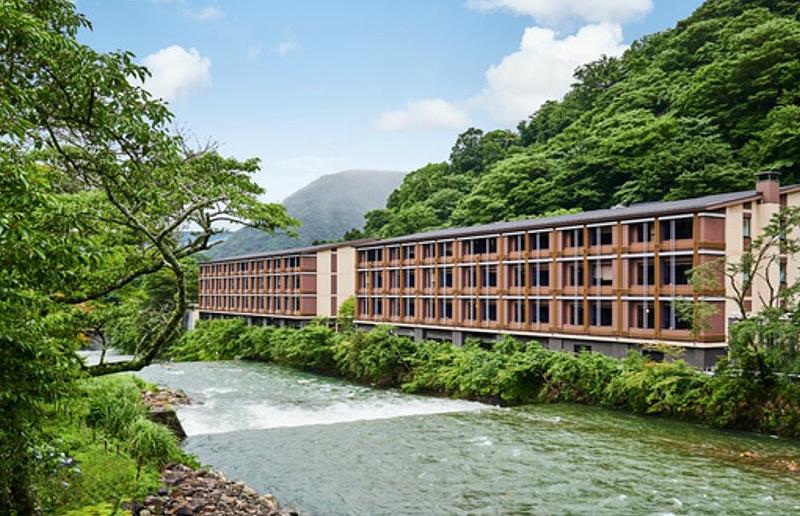 ホテルインディゴ箱根強羅 - 夏の風景