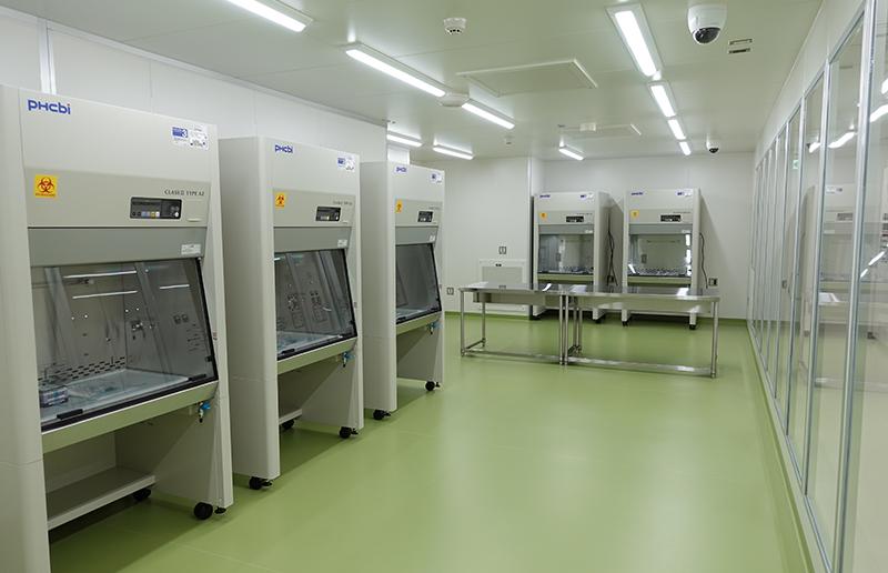 細胞処理室