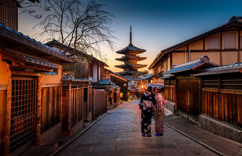 訪日外国人の人気旅先:京都府