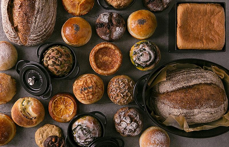 バーミキュラで焼いたパン