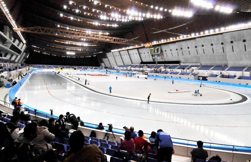 スピードスケート競技の重要な競技会
