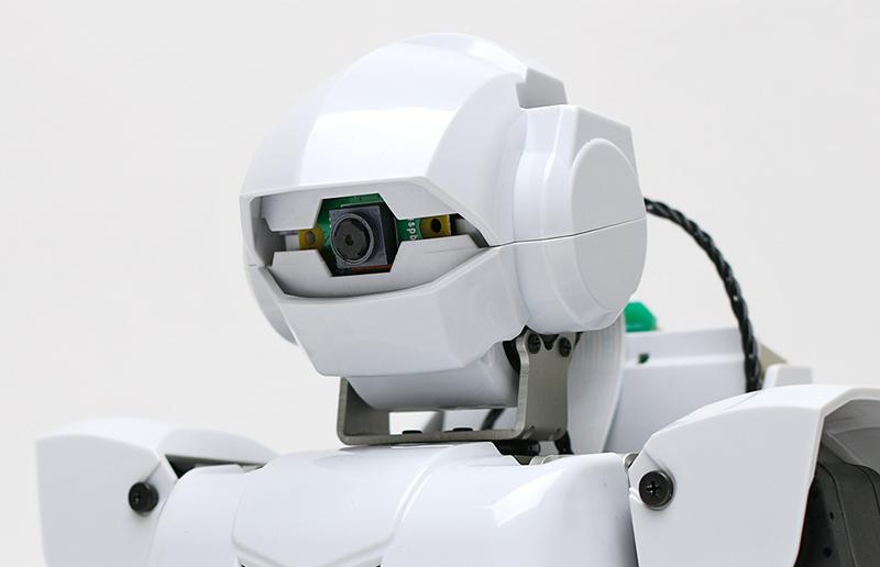 小型カメラ「Raspberry Pi Camera V2」を標準搭載
