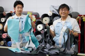 プロジェクトメンバー (左:白井|右:土橋)