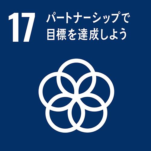SDGs 17 - パートナーシップで目標を達成しよう