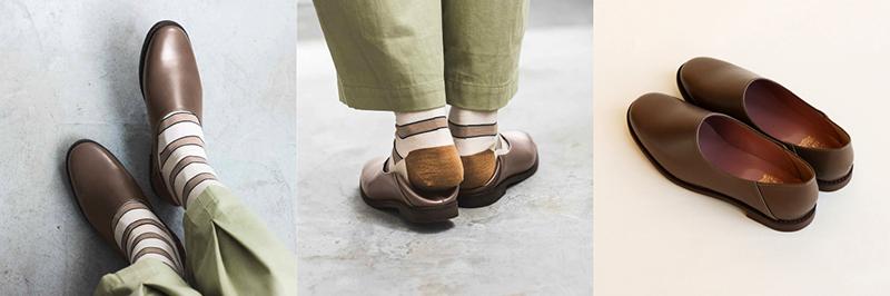 本革 靴:グリー・テルー