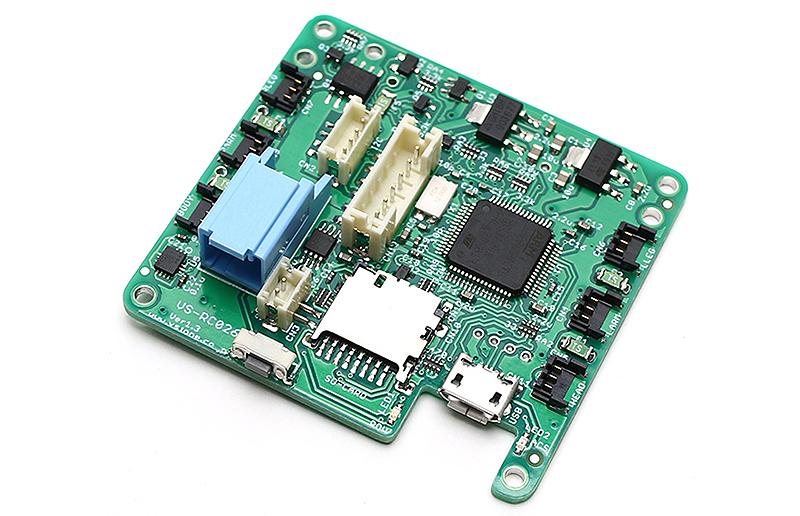 専用開発のロボット制御基板「VS-RC026」を搭載