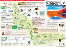 十和田湖・奥入瀬 焼山・蔦エリア マップ