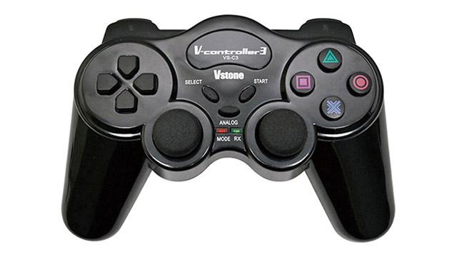 専用無線コントローラーとして「VS-C3」も搭載