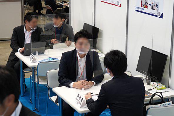 第11回 Japan IT Week 秋 商談の様子