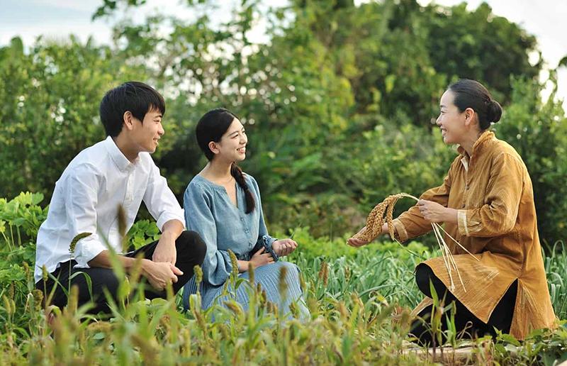 伝統的な畑文化を学ぶ