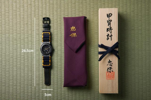 伊達政宗・甲冑腕時計:ケース