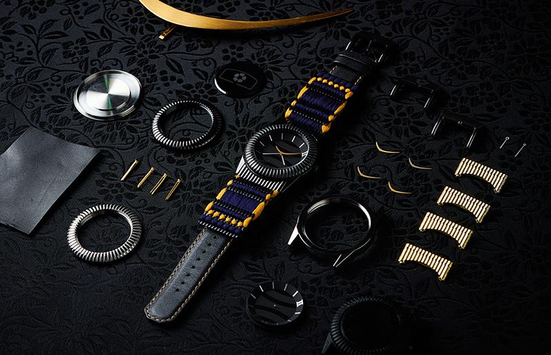 伊達政宗の甲冑腕時計