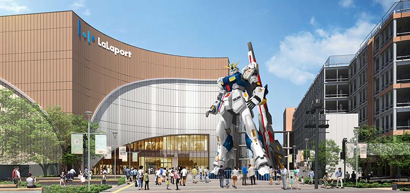 ららぽーと福岡 RX-93ff νガンダム