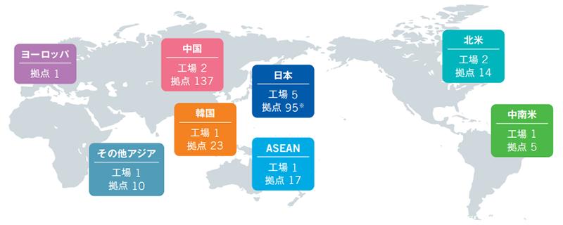 ミウラグループのグローバルネットワーク