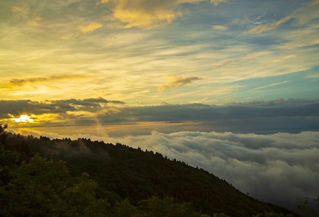 野呂山 標高839m