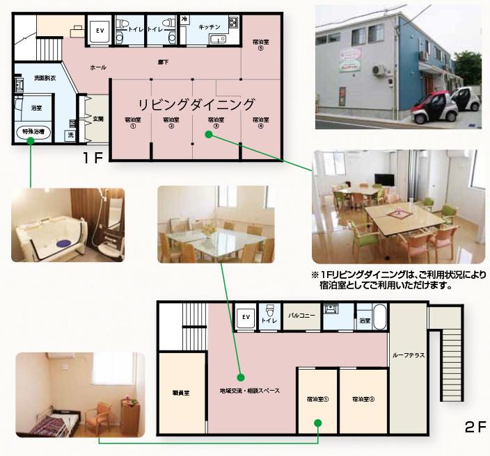 Nursing Home 稲毛東 フロア図