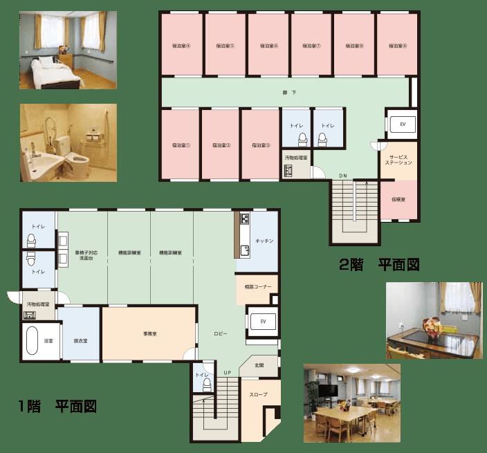 Nursing Home 八千代台 フロア図