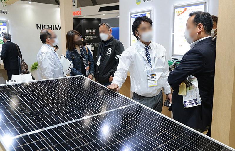 スマートエネルギーWeek 2021年 春展の様子