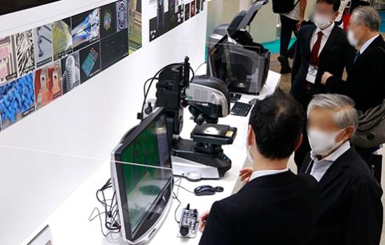 第22回 インターフェックス Week 東京 展示の様子