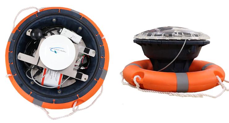 小型の海象観測ロボット「みちびき海象ブイ」