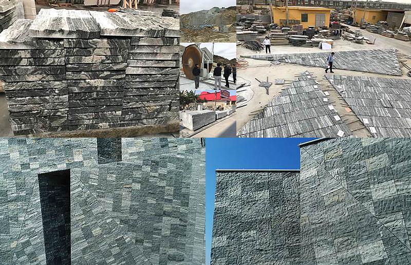 30Mの石塊、50~70kgの岩盤2万枚