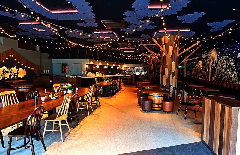 ムーミン谷の食堂